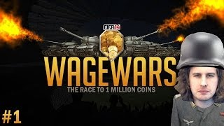 WAGE WARS #1 | A FIFA WAGER SERIES | FIFA 14 ULTIMATE TEAM