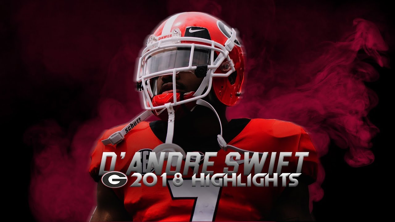D'Andre Swift 2018 Georgia Highlights - Shiftiest Running Back in College Football ᴴᴰ