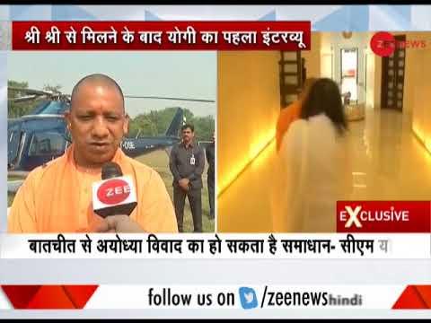 Watch: Exclusive conversation with UP CM Yogi Adityanath