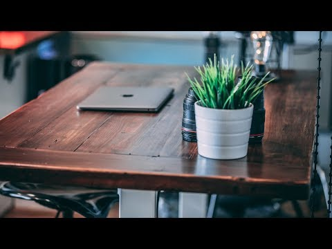 Build Your Own CUSTOM All Wood Desk Top | Custom Desk Tutorial