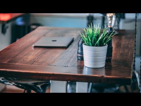 Build Your Own CUSTOM All Wood Desk Top | Custom Desk Tutorial