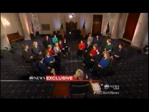 Senator Murkowski and the Women Senators of the 113th Congress on ABC News