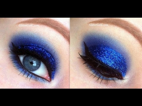 blue-glittery-prom-makeup