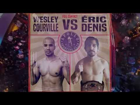 Wesley COURVILLE vs. Eric DENIS - Apollo Boxing Nights (Round 3) - 2016