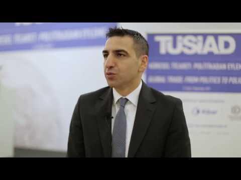 TÜSİAD Küresel Ticaret Konferansı - TÜSİAD Dış Ticaret Çalışma Grubu Üyesi Sercan Bahadır