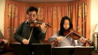 Mazas Violin Duet Op.38 No.1, Allegro maestoso