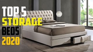 5 BEST STORAGE BEDS review
