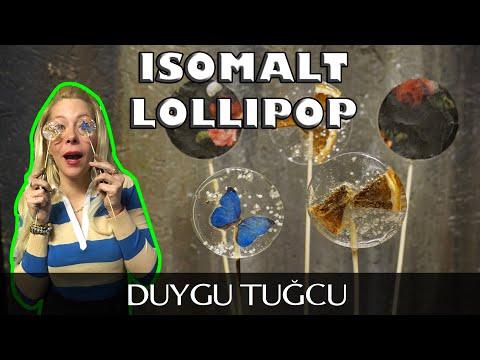 Isomalt Ile Lollipop Nasıl Yapılır? Püf Noktalarıyla! - Chef Duygu Tugcu