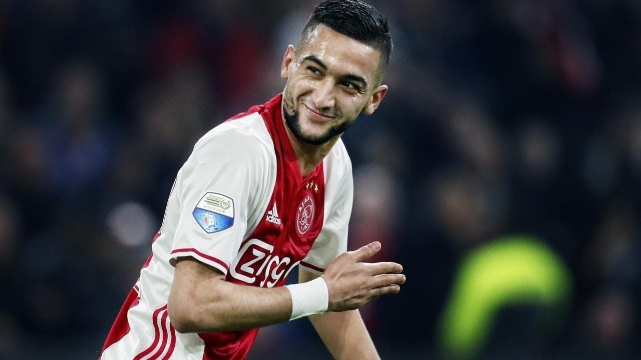 Hakim Ziyech Goals Assist And Skills Ajax Amsterdam