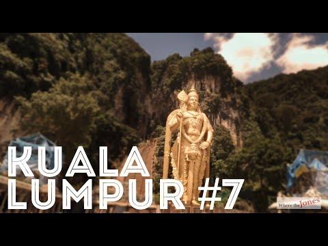 BATU CAVES, KUALA LUMPUR, MALAYSIA /// Jones Family Travel Vlog