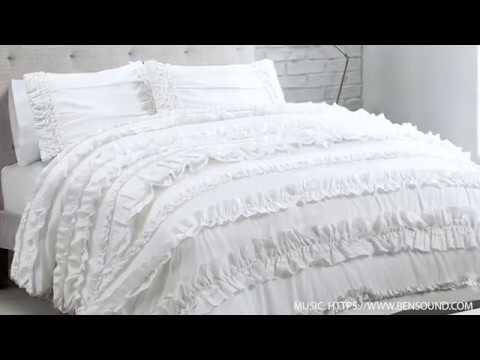 A Closer Look At The Lush Decor Belle Comforter Set YouTube Unique Lush Decor Belle Bedding