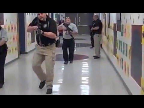 Intruder Drill at Boone Elementary Troy Missouri