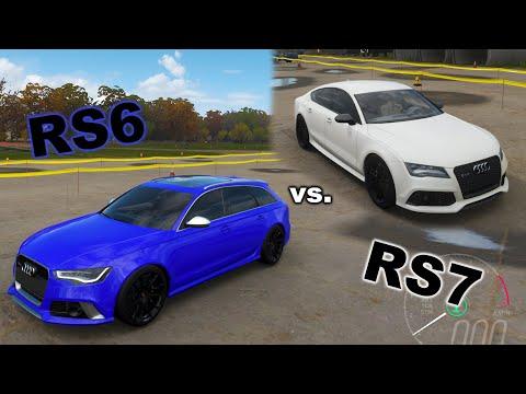 Melyik a jobb? Audi RS6 vs. RS7 | 🚗Forza Horizon 4 #16