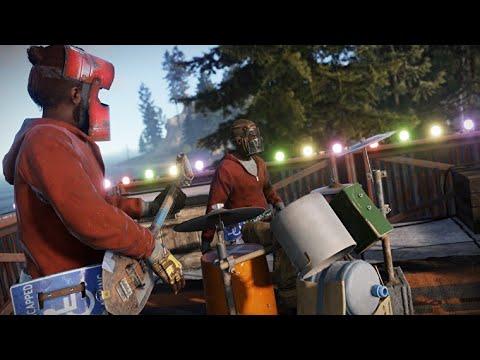 Amazing Rust Concert- (Rocket Man/Sweet Home Alabama Performed On Rust Instruments)