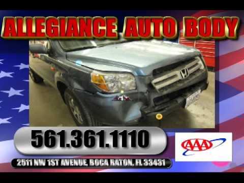 Auto Repair Boca Raton, Allegiance Auto Body, Car Crash, Boc