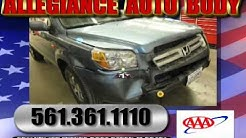 Auto Repair Boca Raton, Allegiance Auto Body, Car Crash, Boc