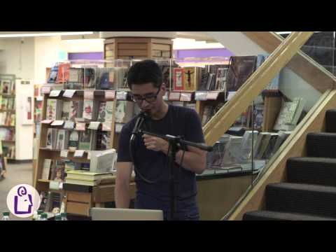 Kazu & Raina introduce Escape From Lucien & Smile at University Book Store