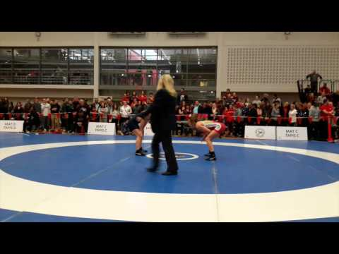 2015 Senior National Championships: 53 kg Brianne Barry vs. Cara Nania