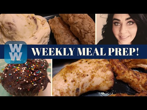 ww-weekly-meal-prep-|-hawaiian-pasta-salad-|-1sp-cupcakes-|-weight-watchers!!