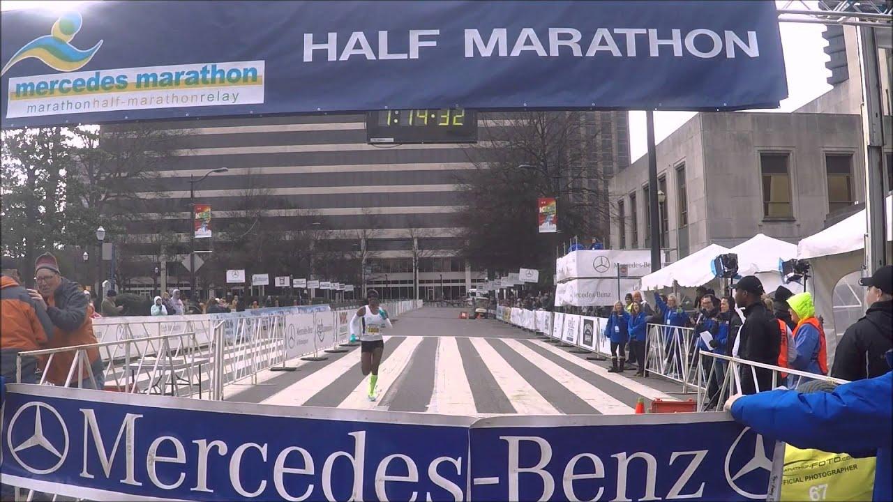 Mercedes Half Marathon 2016