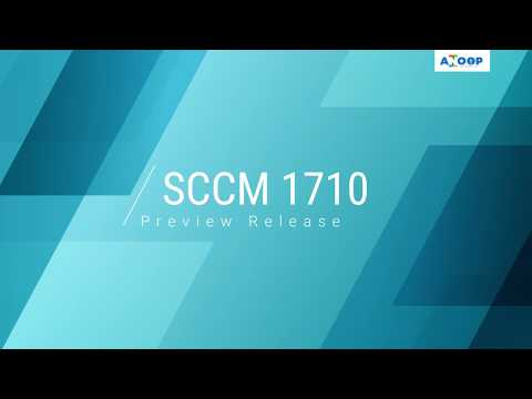 Download SCCM ConfigMgr 1710 PREVIEW Version