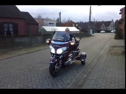 KitTrike on Goldwing 1800 by ErgoMot Belgium - YouTube
