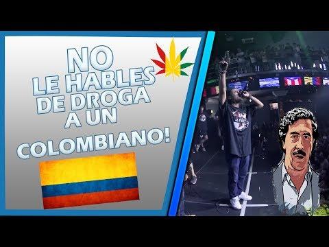 NO LE HABLES DE DROGA Y ARMAS A UN COLOMBIANO EN BATALLAS DE RAP!