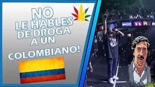 NO LE HABLES DE DROGA Y ARMAS A UN COLOMBIANO EN BATALLAS DE RAP! thumbnail