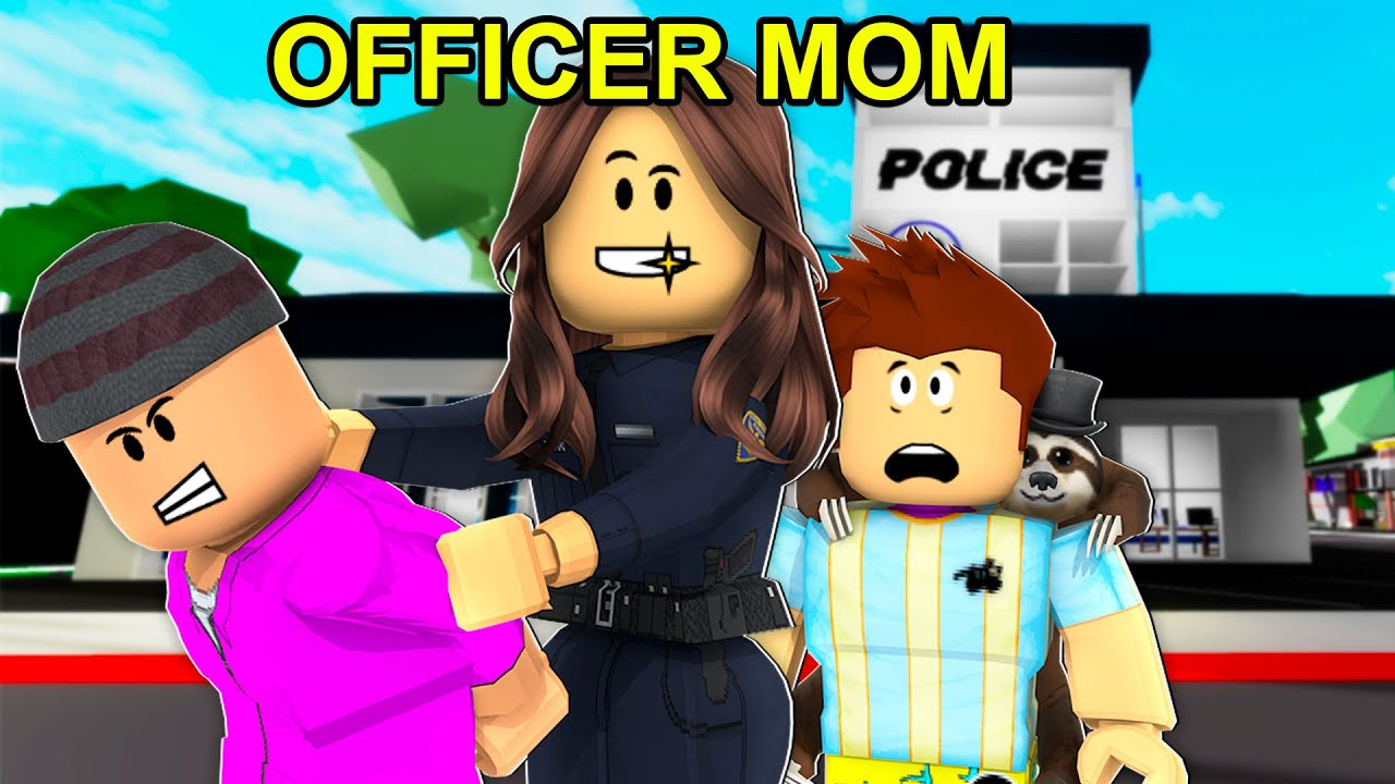 Mom Ran Brookhaven Prison.. (Roblox)
