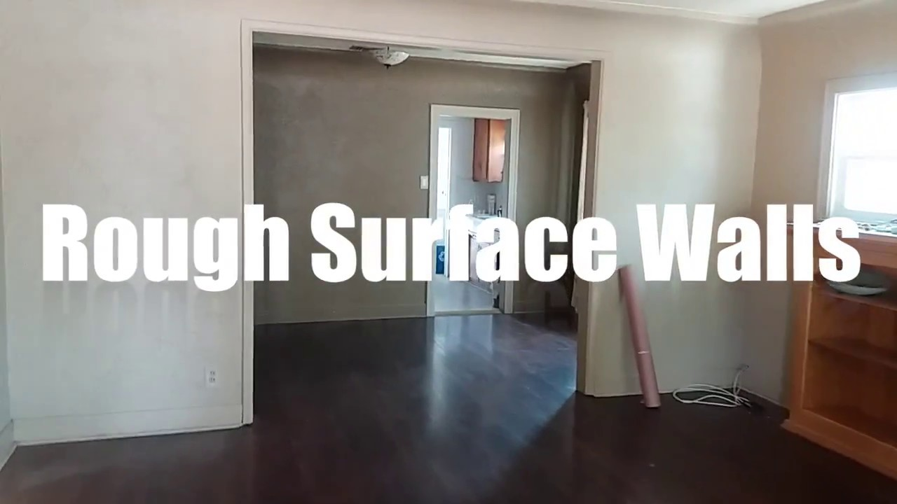 Delicieux Painting Rough Surface Walls