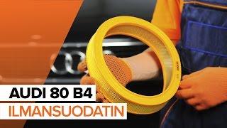 AUDI 80 Tukivarsi vaihto: ohjekirja
