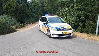 2x Politie met spoed naar melding in Overasselt