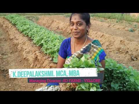 072 - VNP - Women Organic Farmer - Deepalakshmi