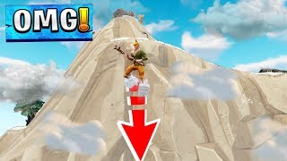 SKIING IN FORTNITE?! ICE TRAP MINIGAME IN FORTNITE BATTLE ROYALE..