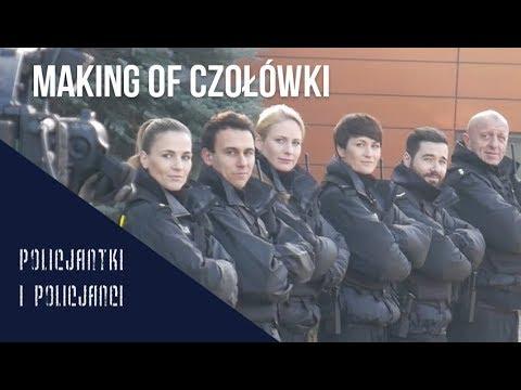 """""""Policjantki i policjanci"""" : Making of nowej czołówki (8. sezon)"""