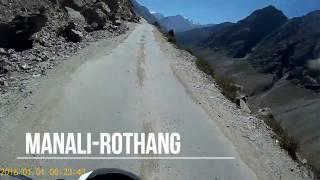 LEH LADAKH ROAD TRIP 2016 - Manali to Rothang [PART 1] | Silent Rider
