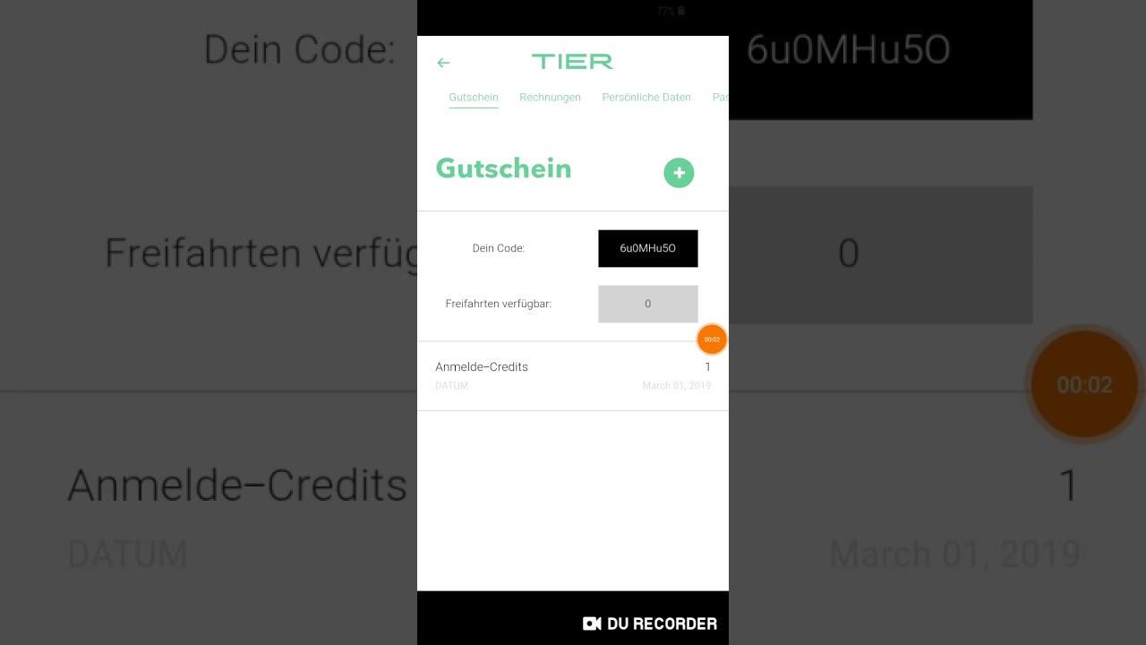 Code tier scooter