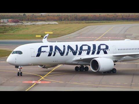 FULL FLIGHT REPORT - Finnair A350-900 London - Helsinki  -  LHR-HEL