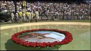 John Williamson sings True Blue at the Steve Irwin Memorial 2006