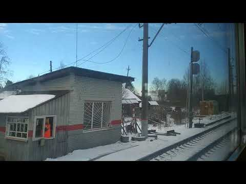 Луга-1 - Мшинская на ЭТ2МЛ-077 (ТЧ-15 СПб-Балтийский)