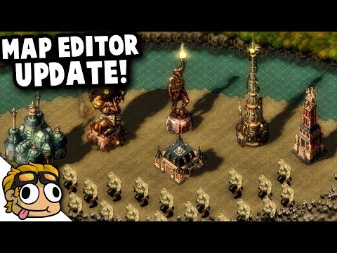 MAP EDITOR UPDATE in THEY ARE BILLIONS! | They Are Billions