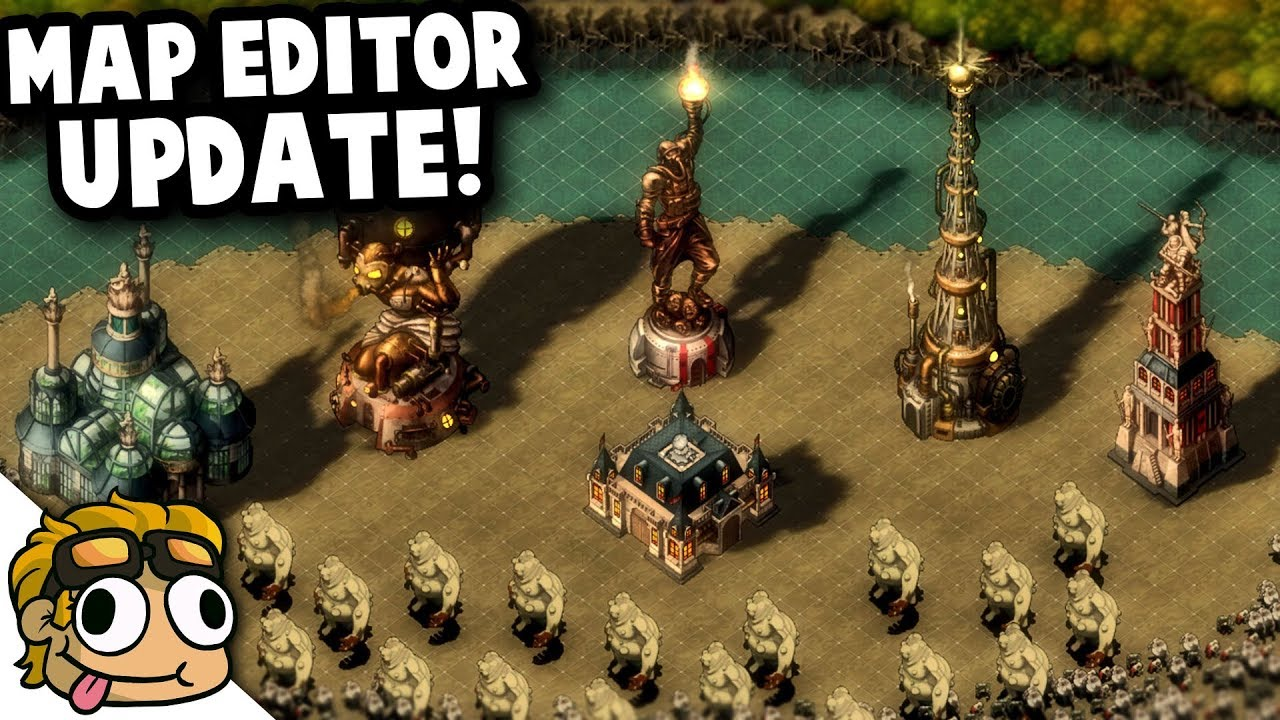 MAP EDITOR UPDATE in THEY ARE BILLIONS! | They Are Billions Gameplay