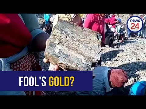 WATCH: KZN 'gold' rush as thousands descend upon tiny village