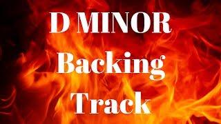 D Minor Hard Rock/Metal Guitar Backing Track w/Chords