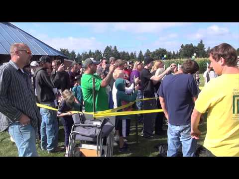 Marshawn Lynch - Rutledge Corn Maze 2012