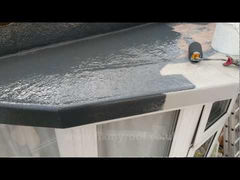 How to FIBREGLASS A ROOF - How to Fibreglass a Bay Roof DIY
