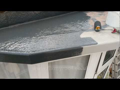 how-to-fibreglass-a-roof---how-to-fibreglass-a-bay-roof-diy