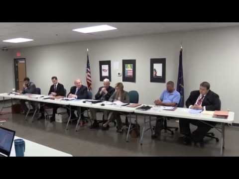 2016 Indiana Senate District 36 Democrat Primary Recount Commission Hearing