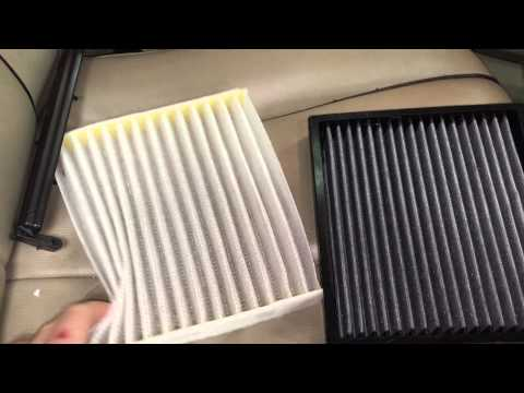 change cabin filter 2010 toyota venza camry and most. Black Bedroom Furniture Sets. Home Design Ideas
