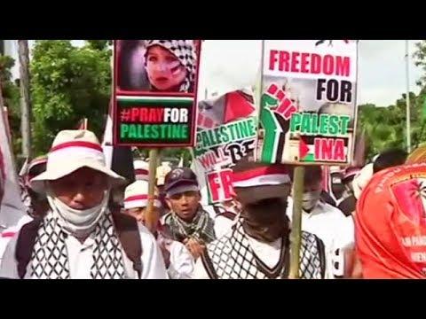 Jakarta: Rally held against US President Donald Trump's Jerusalem plan